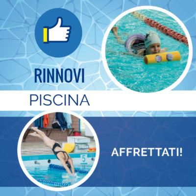 rinnovi piscina 3° periodo 2019