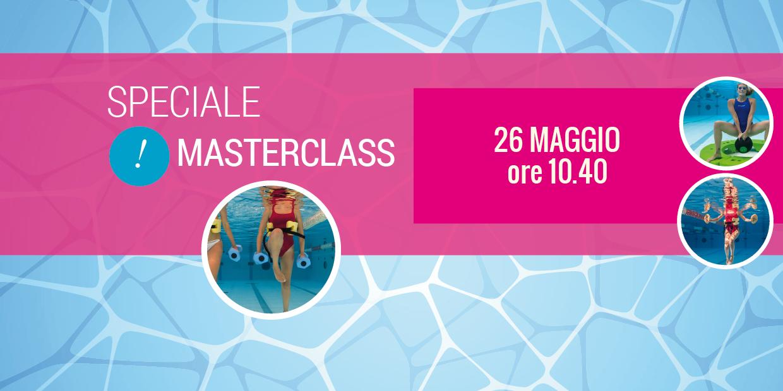 masterclass acquagym 26 maggio