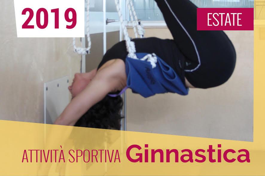 attività sportiva ginnastica ESTATE 2019