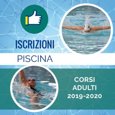 iscrizioni piscina adulti 2019-2020