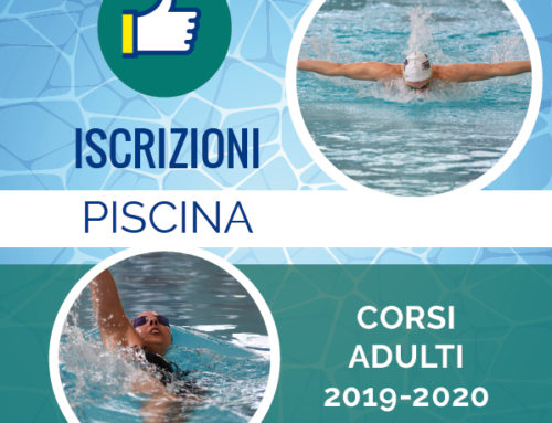 Iscrizione alle attività in piscina 2019-2020