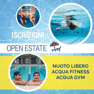 iscrizione open estate 2019