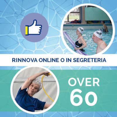 rinnovi over60 2019