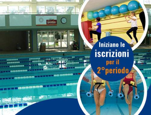 Iscriviti al 2° periodo in piscina o in palestra