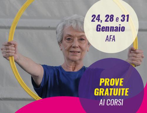 Attività Fisica Adattata – AFA: nuovo corso