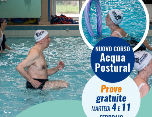 Acqua Postural, nuovo corso, prove gratuite