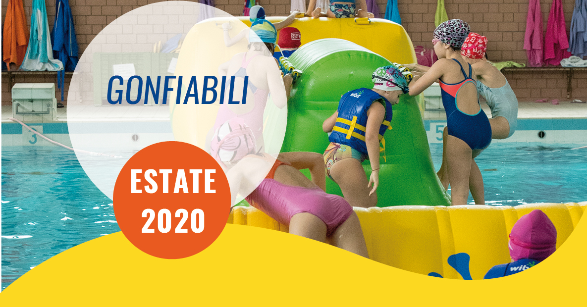 gonfiabili estate 2020