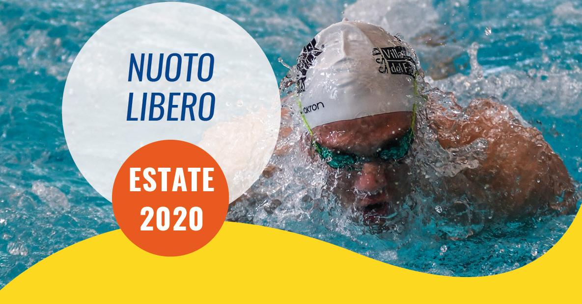 nuoto libero estate 2020