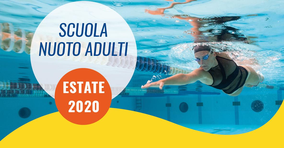 scuola nuoto adulti estate 2020