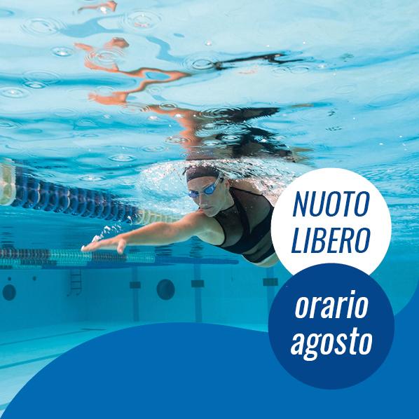 orario nuoto libero agosto 2020