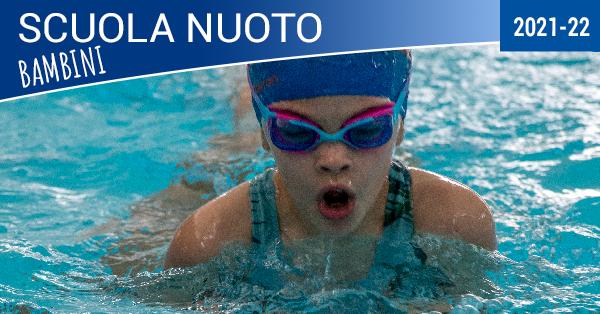 scuola nuoto bambini 2021-22