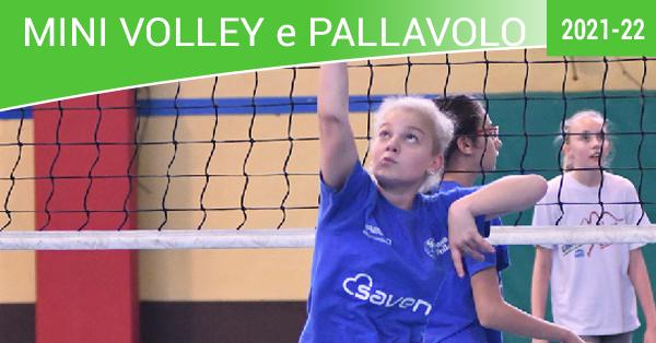 mini volley e pallavolo 2021-22