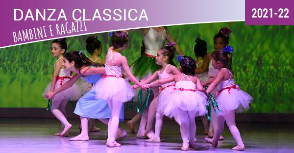 danza classica bambini e ragazzi 2021-22-